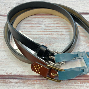 Primary Photo - BRAND: UNIVERSAL THREAD STYLE: BELT COLOR: MULTI SIZE: S OTHER INFO: NEW! 2 PACK BLACK/BROWN SKU: 178-178212-4843