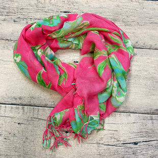 Primary Photo - BRAND: LILLY PULITZER STYLE: SCARF COLOR: PINK OTHER INFO: FLOWERS/GREEN/BLUE SKU: 178-17853-168