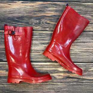 Primary Photo - BRAND: CAPELLI STYLE: BOOTS RAIN COLOR: RED SIZE: 8 SKU: 178-178102-54484