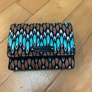 Primary Photo - BRAND: VERA BRADLEY STYLE: WALLET COLOR: BROWN SIZE: MEDIUM OTHER INFO: NEW! BROWN, BLUE SKU: 178-178182-1722
