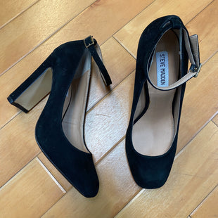 Primary Photo - BRAND: STEVE MADDEN STYLE: SHOES HIGH HEEL COLOR: BLACK SIZE: 7.5 SKU: 178-178182-2485