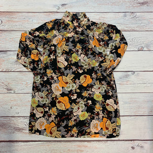 Primary Photo - BRAND: WHO WHAT WEAR STYLE: DRESS SHORT LONG SLEEVE COLOR: BLACK SIZE: XS OTHER INFO: NEW/FLORAL/ORANGE/YELLOW/CREAM/BLUE SKU: 178-178102-63170