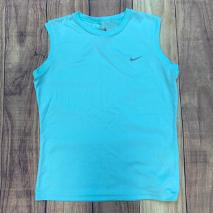 Primary Photo - BRAND: NIKE STYLE: ATHLETIC TANK TOP COLOR: LIGHT BLUE SIZE: S SKU: 178-17824-11581