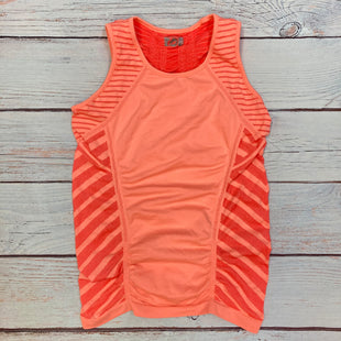 Primary Photo - BRAND: ATHLETA STYLE: ATHLETIC TANK TOP COLOR: STRIPED SIZE: M OTHER INFO: ORANGE/RED SKU: 178-178102-62536