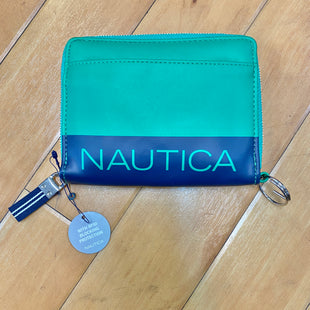 Primary Photo - BRAND: NAUTICA STYLE: WALLET COLOR: GREEN SIZE: MEDIUM OTHER INFO: NEW! W/ BLUE STRIP SKU: 178-178182-2846