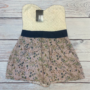 Primary Photo - BRAND: PINS AND NEEDLES STYLE: DRESS SHORT SLEEVELESS COLOR: FLORAL SIZE: S OTHER INFO: ROMPER-NEW! CREAM/LAVENDER/BLUE/GREEN/ORANG SKU: 178-178102-61526
