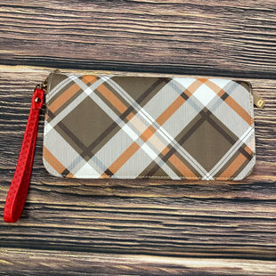 Primary Photo - BRAND:   STYLE: WALLET COLOR: PLAID SIZE: MEDIUM OTHER INFO: RED/ TAN/ YELLOW SKU: 178-178199-2571