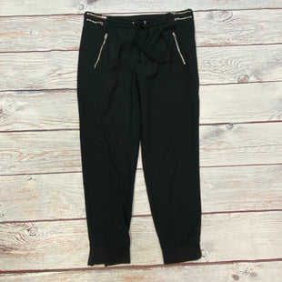 Primary Photo - BRAND: ZARA WOMEN STYLE: ATHLETIC PANTS COLOR: BLACK SIZE: L OTHER INFO: JOGGERS/SILVER ZIP POCKETS SKU: 178-178212-5373