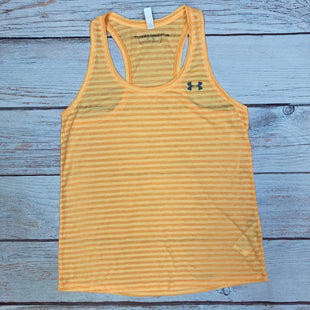Primary Photo - BRAND: UNDER ARMOUR STYLE: ATHLETIC TANK TOP COLOR: ORANGE SIZE: M OTHER INFO: STRIPED SKU: 178-178212-4788