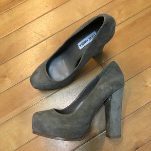 Primary Photo - BRAND: STEVE MADDEN STYLE: SHOES HIGH HEEL COLOR: GREY SIZE: 8.5 OTHER INFO: NEW! SKU: 178-178199-987