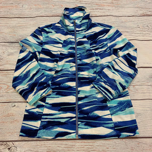 Primary Photo - BRAND: CHICOS STYLE: ATHLETIC JACKET COLOR: PRINT SIZE: S OTHER INFO: BLUE/AQUA/WHITE SKU: 178-178102-62681