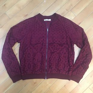 Primary Photo - BRAND: NORDSTROM STYLE: BLAZER JACKET COLOR: MAROON SIZE: L OTHER INFO: LACE SKU: 178-178199-1630