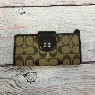 Primary Photo - BRAND: COACH STYLE: WALLET COLOR: MONOGRAM SIZE: MEDIUM SKU: 178-178182-3571