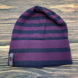 Primary Photo - BRAND: LULULEMON STYLE: HAT COLOR: PURPLE OTHER INFO: STRIPED BEANIE -PURPLE/NAVY SKU: 178-17824-10662