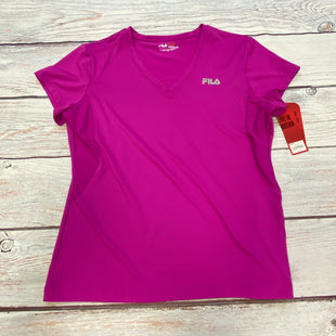 Primary Photo - BRAND: FILA STYLE: ATHLETIC TOP COLOR: PURPLE SIZE: XL OTHER INFO: NEW SKU: 178-17853-1125