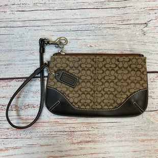 Primary Photo - BRAND: COACH STYLE: WRISTLET COLOR: MONOGRAM SKU: 178-178203-4254