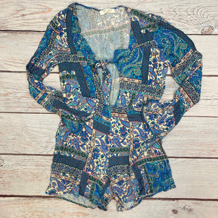 Primary Photo - BRAND: LEE SUYSTYLE: DRESS SHORT LONG SLEEVE COLOR: PAISLEY SIZE: M OTHER INFO: ROMPER - BLUE/PINK/WHITE/PURPLE SKU: 178-178174-1160