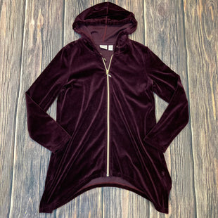 Primary Photo - BRAND: ZENERGY BY CHICOS STYLE: ATHLETIC JACKET COLOR: MAROON SIZE: M SKU: 178-178114-15585