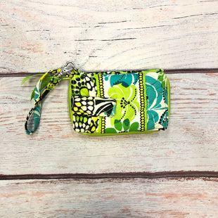Primary Photo - BRAND: VERA BRADLEY STYLE: WRISTLET COLOR: GREEN OTHER INFO: GREEN/WHITE/TEAL/BLACK SKU: 178-178203-3420
