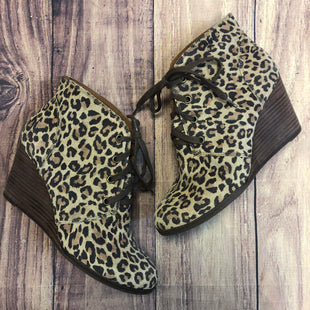 Primary Photo - BRAND: LUCKY BRAND STYLE: BOOTS ANKLE COLOR: ANIMAL PRINT SIZE: 8.5 SKU: 178-178102-56792