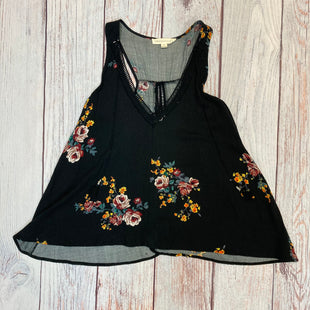 Primary Photo - BRAND: LOVESTITCH STYLE: TOP SLEEVELESS COLOR: FLOWERED SIZE: S OTHER INFO: BLACK/RED/YELLOW OPEN BACK SKU: 178-178212-3404