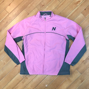 Primary Photo - BRAND: NEW BALANCE STYLE: COAT SHORT COLOR: PINK SIZE: M OTHER INFO: PINK/ GREY SKU: 178-178214-419