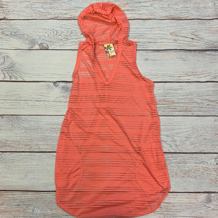 Primary Photo - BRAND:STYLE: COVERUP COLOR: CORAL SIZE: M OTHER INFO: LILY BLEU BEACH - HOOD SKU: 178-17853-341