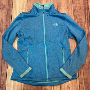 Primary Photo - BRAND: NORTHFACE STYLE: ATHLETIC JACKET COLOR: BLUE SIZE: M OTHER INFO: LIGHT BLUE TRIM SKU: 178-17824-11644