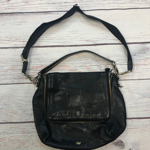Primary Photo - BRAND:  ANYA HINDMAN STYLE: HANDBAG DESIGNER COLOR: BLACK SIZE: MEDIUM OTHER INFO: - WEAR/SCUFFS SKU: 178-17853-476