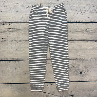 Primary Photo - BRAND: J CREW STYLE: ATHLETIC PANTS COLOR: GREY SIZE: XXS OTHER INFO: NWT! GREY/WHITE STRIPES SKU: 178-178203-2157