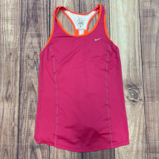 Primary Photo - BRAND: NIKE APPAREL STYLE: ATHLETIC TANK TOP COLOR: MAGENTA SIZE: S SKU: 178-178102-56887