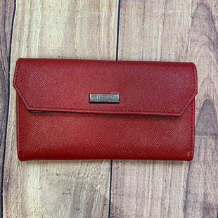 Primary Photo - BRAND: KENNETH COLE REACTION STYLE: WALLET COLOR: RED SIZE: LARGE OTHER INFO: BLACK/BLUE INTERIOR SKU: 178-178102-56397