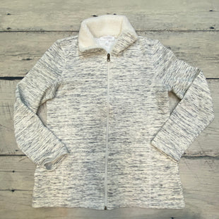 Primary Photo - BRAND: TALBOTS O STYLE: ATHLETIC JACKET COLOR: GREY SIZE: S OTHER INFO: FUZZY INSIDE SKU: 178-178203-1186