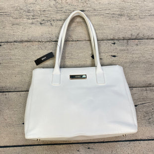 Primary Photo - BRAND: DKNY STYLE: HANDBAG LEATHER COLOR: WHITE SIZE: LARGE OTHER INFO: NEW! SLIGHT CREASING SKU: 178-178212-3677