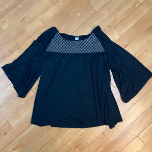 Primary Photo - BRAND: OLD NAVY STYLE: TOP LONG SLEEVE COLOR: BLACK SIZE: XL SKU: 178-178166-5270