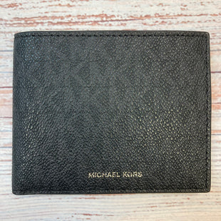 Primary Photo - BRAND: MICHAEL KORS STYLE: WALLET COLOR: MONOGRAM SIZE: SMALL OTHER INFO: BILLFOLD-BLACK/GREY SKU: 178-178102-59053