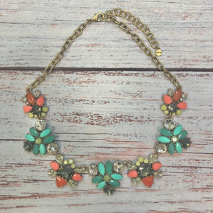 Primary Photo - BRAND: STELLA AND DOT STYLE: NECKLACE COLOR: GOLD OTHER INFO: ORANGE/MINT/BROWN/YELLOW CRYSTALS SKU: 178-178102-60354