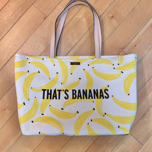 Primary Photo - BRAND: KATE SPADE STYLE: HANDBAG DESIGNER COLOR: PRINT SIZE: LARGE OTHER INFO: THATS BANANAS SKU: 178-178214-851