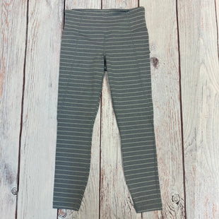 Primary Photo - BRAND: ATHLETA STYLE: ATHLETIC PANTS COLOR: STRIPED SIZE: S OTHER INFO: GREY/WHITE SKU: 178-178212-3401
