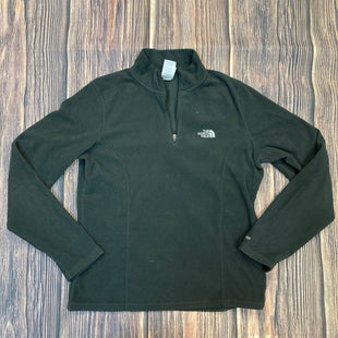Primary Photo - BRAND: NORTHFACE STYLE: ATHLETIC JACKET COLOR: BLACK SIZE: M OTHER INFO: FLEECE QUARTER ZIP SKU: 178-178212-578