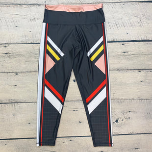 Primary Photo - BRAND:    CLOTHES MENTOR STYLE: ATHLETIC PANTS COLOR: BLACK SIZE: L OTHER INFO: DAY WON - SIZE 14-WHITE/RED/YELLOW/PINK TRIMS SKU: 178-178102-58768