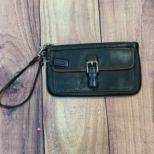 Primary Photo - BRAND: COACH STYLE: WRISTLET COLOR: BLACK OTHER INFO: GENUINE LEATHER SKU: 178-178102-55805