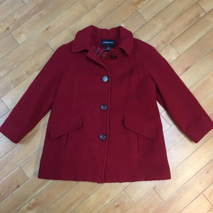 Primary Photo - BRAND: LONDON FOG STYLE: COAT SHORT COLOR: RED SIZE: M OTHER INFO: PEA COAT SKU: 178-178199-2273