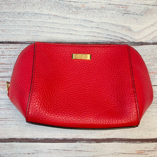 Primary Photo - BRAND: LAUREN BY RALPH LAUREN STYLE: MAKEUP BAG COLOR: RED OTHER INFO: PEBBLE LEATHER SKU: 178-178102-59054