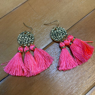 Primary Photo - BRAND: LILLY PULITZER STYLE: EARRINGS COLOR: ORANGE OTHER INFO: TASSEL ORANGE/GOLD SKU: 178-17817-26801