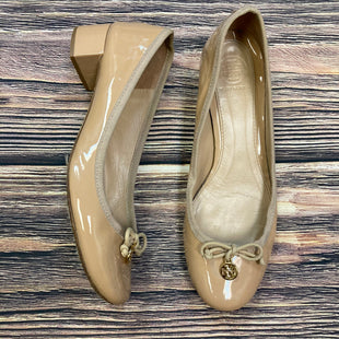 Primary Photo - BRAND: TORY BURCH STYLE: SHOES LOW HEEL COLOR: NUDE SIZE: 7.5 OTHER INFO: CHELSEA PATENT LEATHER HEEL SKU: 178-178182-3399
