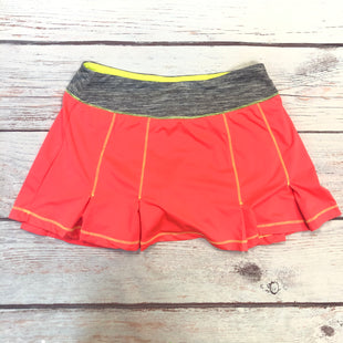 Primary Photo - BRAND: FILA STYLE: ATHLETIC SKIRT SKORT COLOR: HOT PINK SIZE: XS OTHER INFO: GREY WAISTBAND/NEON INTERIOR SKU: 178-178212-5499