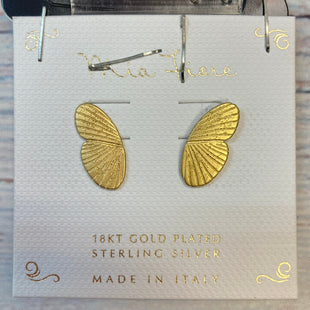 Primary Photo - BRAND:   MIA FIORE STYLE: EARRINGS COLOR: STERLING SILVER OTHER INFO: MIA FIORE - GOLD WINGS SKU: 178-178212-3293