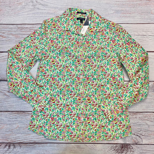 Primary Photo - BRAND: LANDS END STYLE: BLOUSE COLOR: FLOWERED SIZE: S OTHER INFO: NEW! SZ 6 GREEN/WHITE/PINK/RED/YELLOW SKU: 178-178212-3339