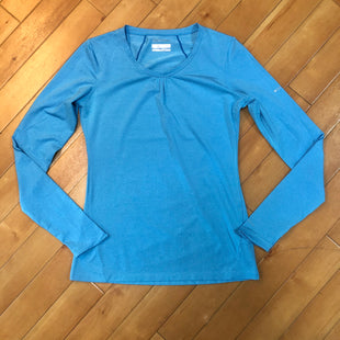 Primary Photo - BRAND: COLUMBIA STYLE: ATHLETIC TOP COLOR: BLUE SIZE: S SKU: 178-178102-47175
